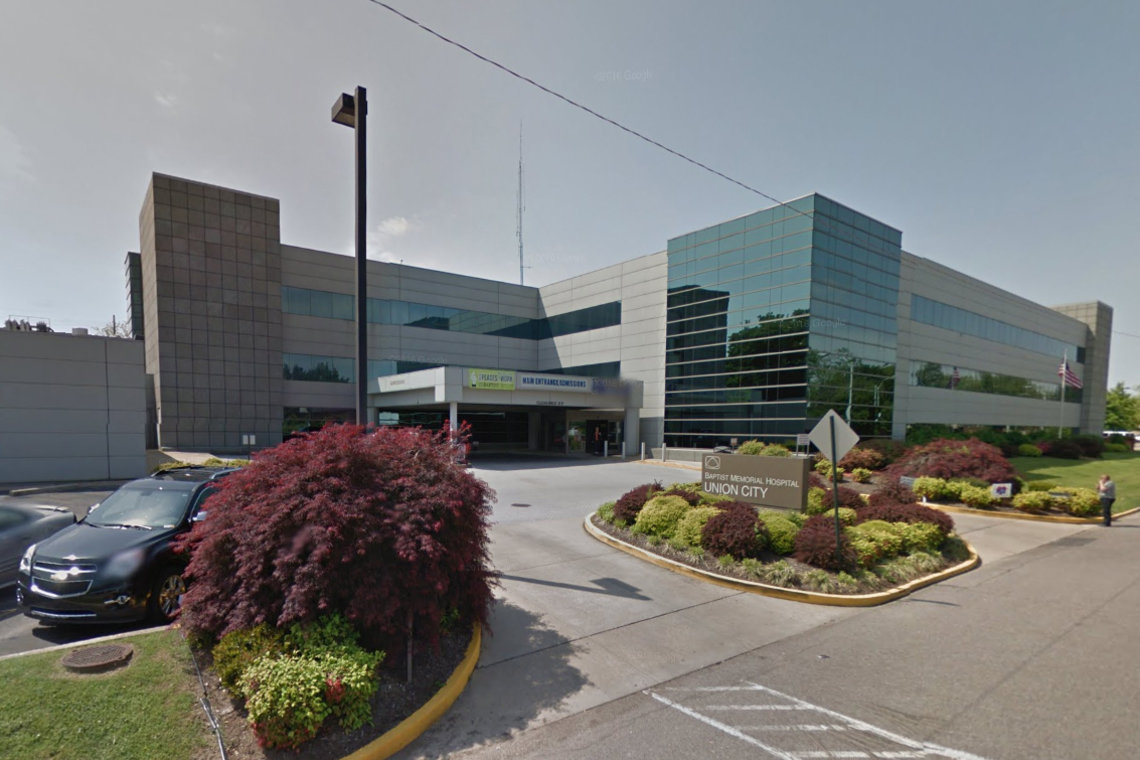 A suicidal man died in 2010 after an eye doctor discharged him from the emergency room at Baptist Memorial Hospital in Union City, Tenn., to jail.