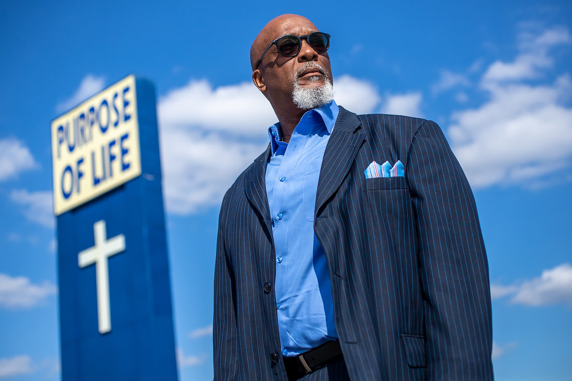 Rev. David Greene Sr., senior pastor at Purpose of Life Ministries and president of Concerned Clergy of Indianapolis, said he is skeptical of the police department's argument that its dogs are preventing more police shootings in the city.