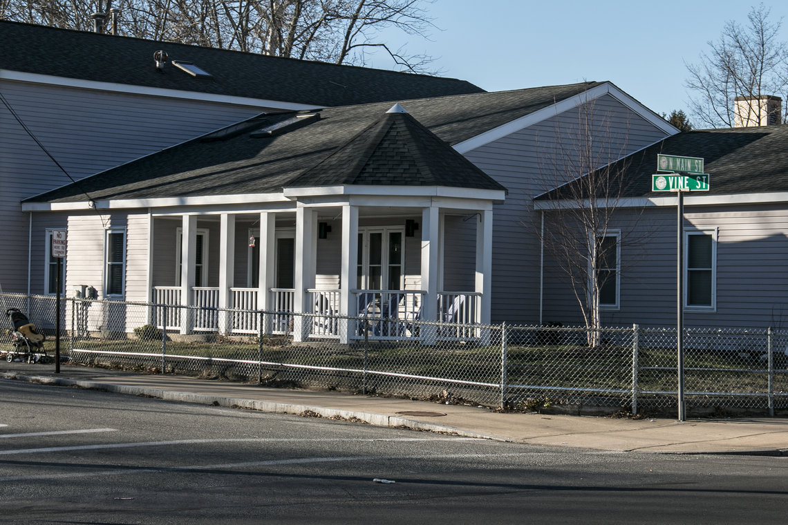 The minimum stay is at the Edwina Martin House in Brockton, Mass., is four months but a woman can live there for a year.