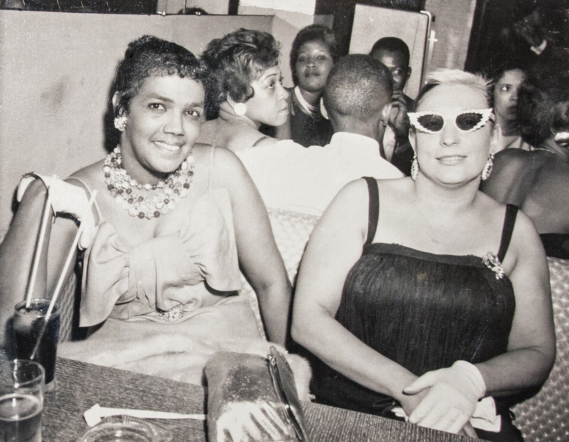 Dollree Mapp, left, in an undated photograph.