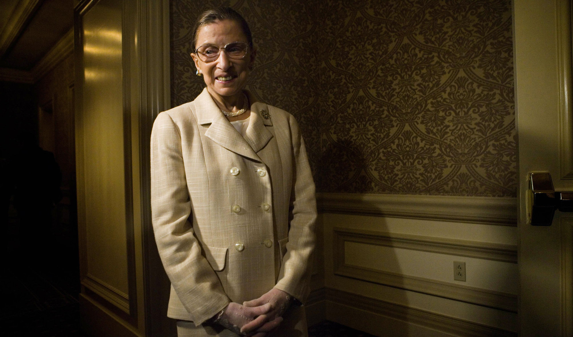 Supreme Court Justice Ruth Bader Ginsburg in Washington, in 2006.