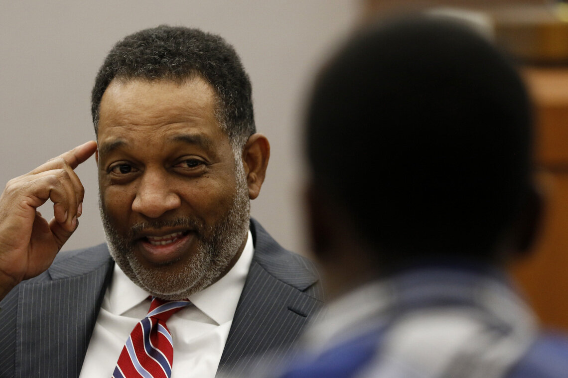 George Ashford at the Henry Wade Juvenile Justice Center in Dallas, on March 16, 2015.
