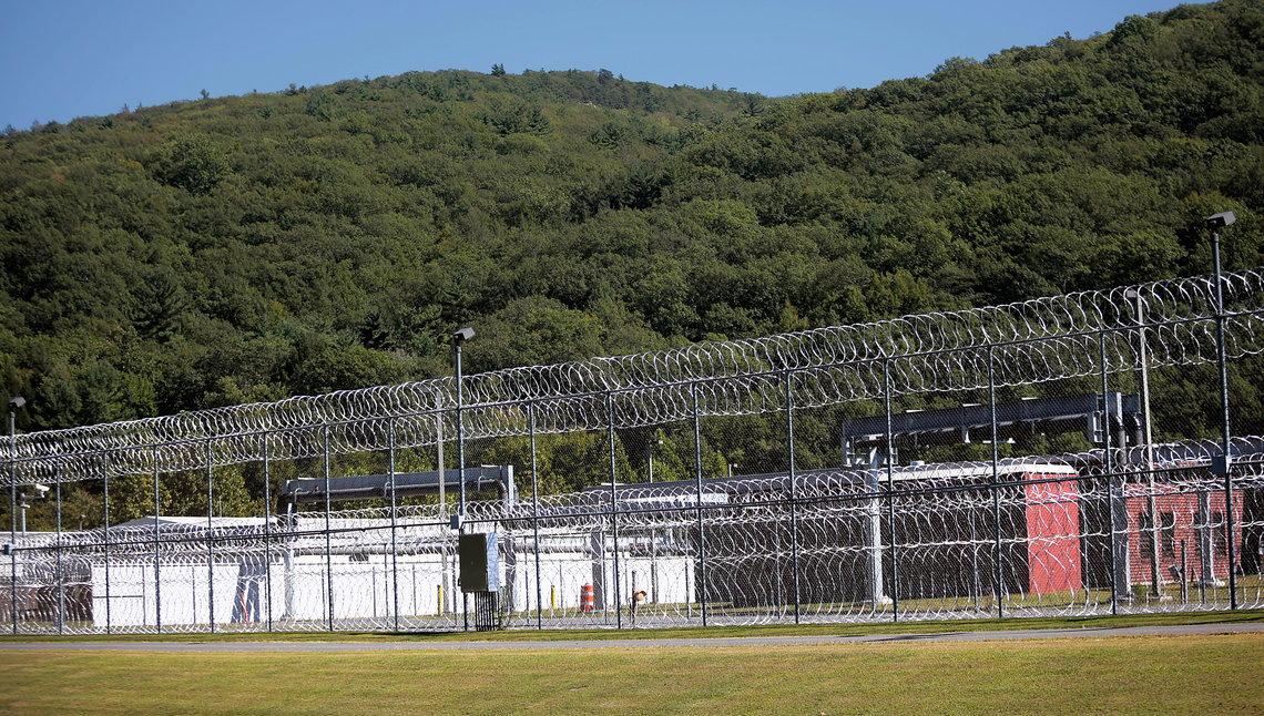 The Ulster Correctional Facility, the medium-security prison in Napanoch, N.Y., where the episode involving Ramon Fabian and Michael Bukowski occurred.