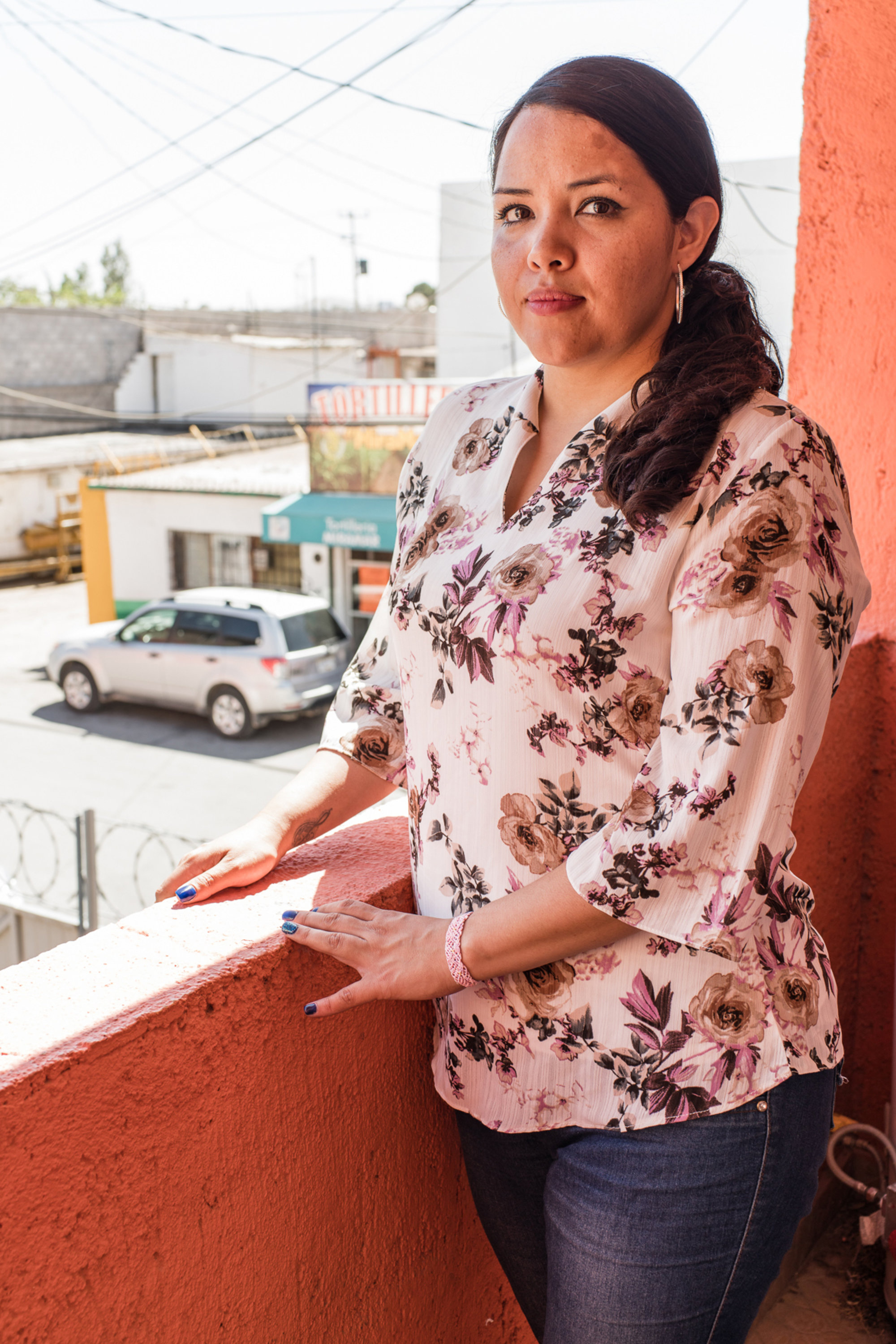 "Alejandra Garcia Zamarrón, who is currently in Chihuahua, Mexico, applied for ""voluntary departure,"" which allows immigrants to leave the country without a deportation on their record."