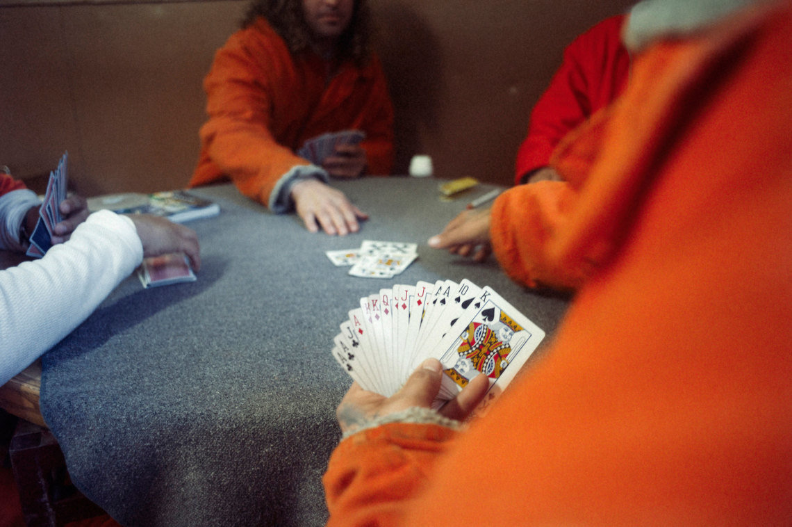 Inmates at California's fire camps are allowed more recreation time and more freedom to interact without supervision in the downtime between fires than they would have at a traditional prison.