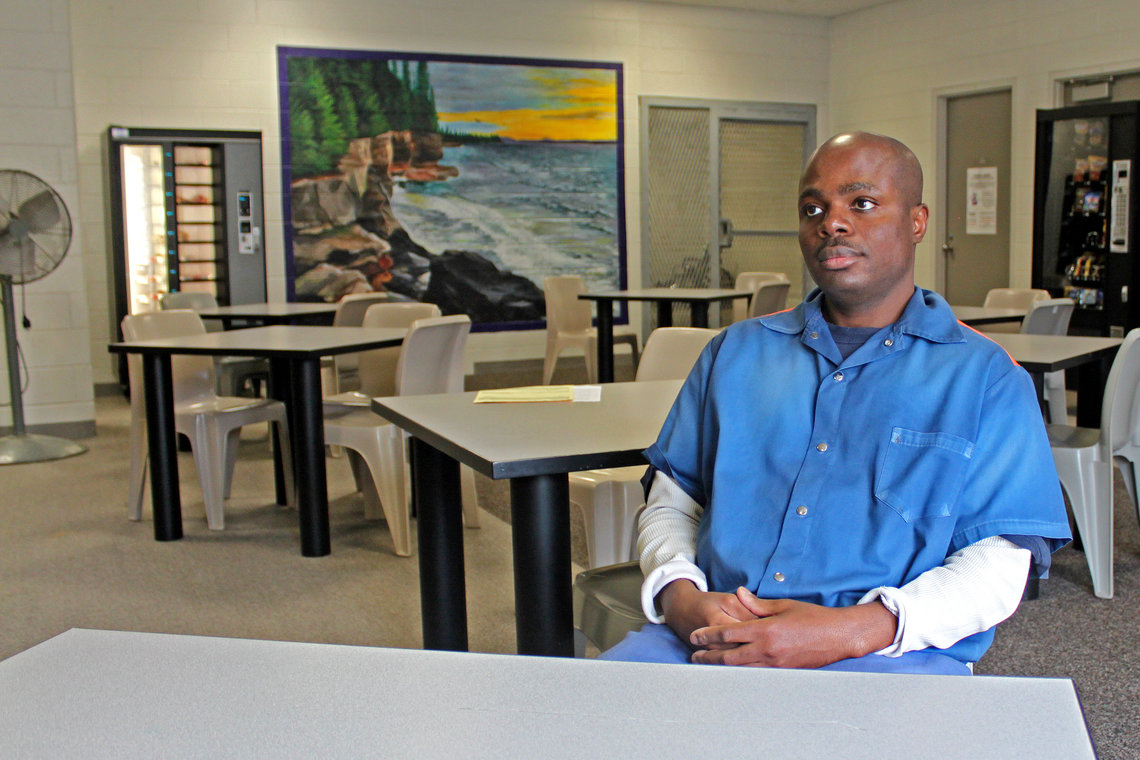 Stoney Harris, who is now in general population, went through the incentives program in 2009.