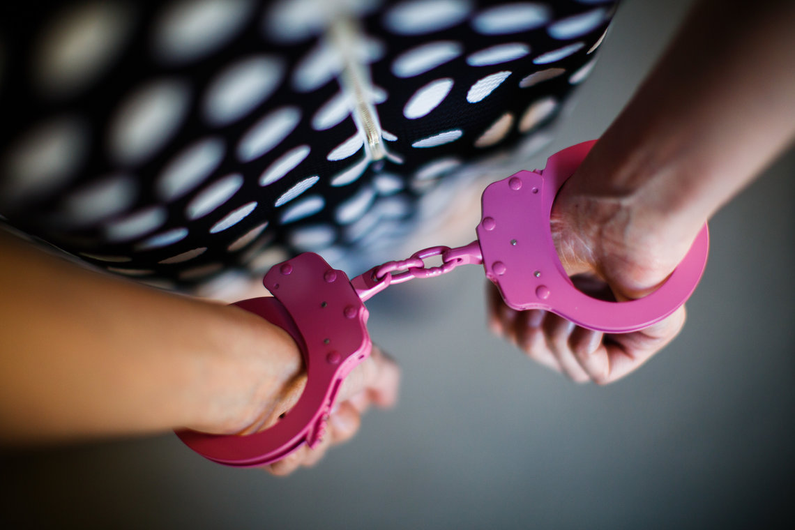 Handcuffing Little Kids May Not Be >> Pretty In Pink Handcuffs The Marshall Project