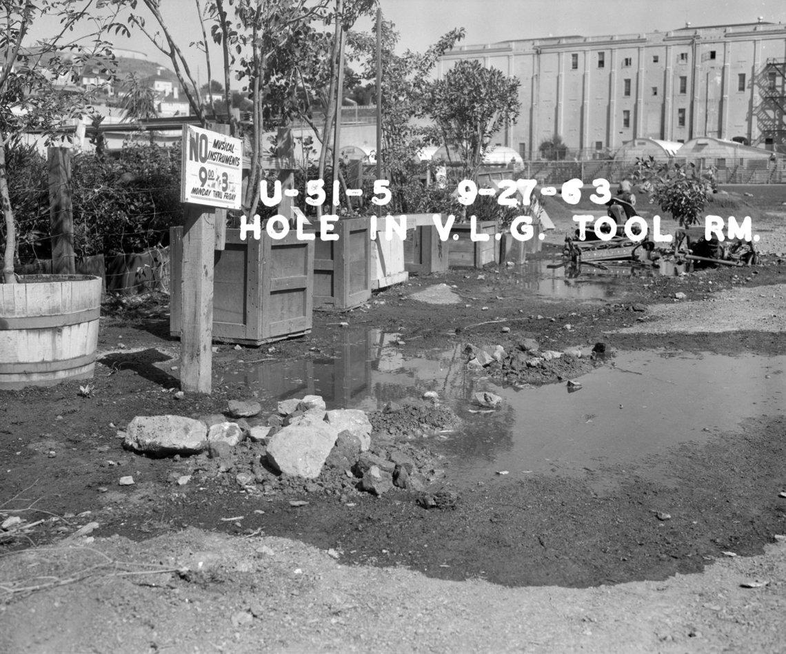Found Hole, 1963