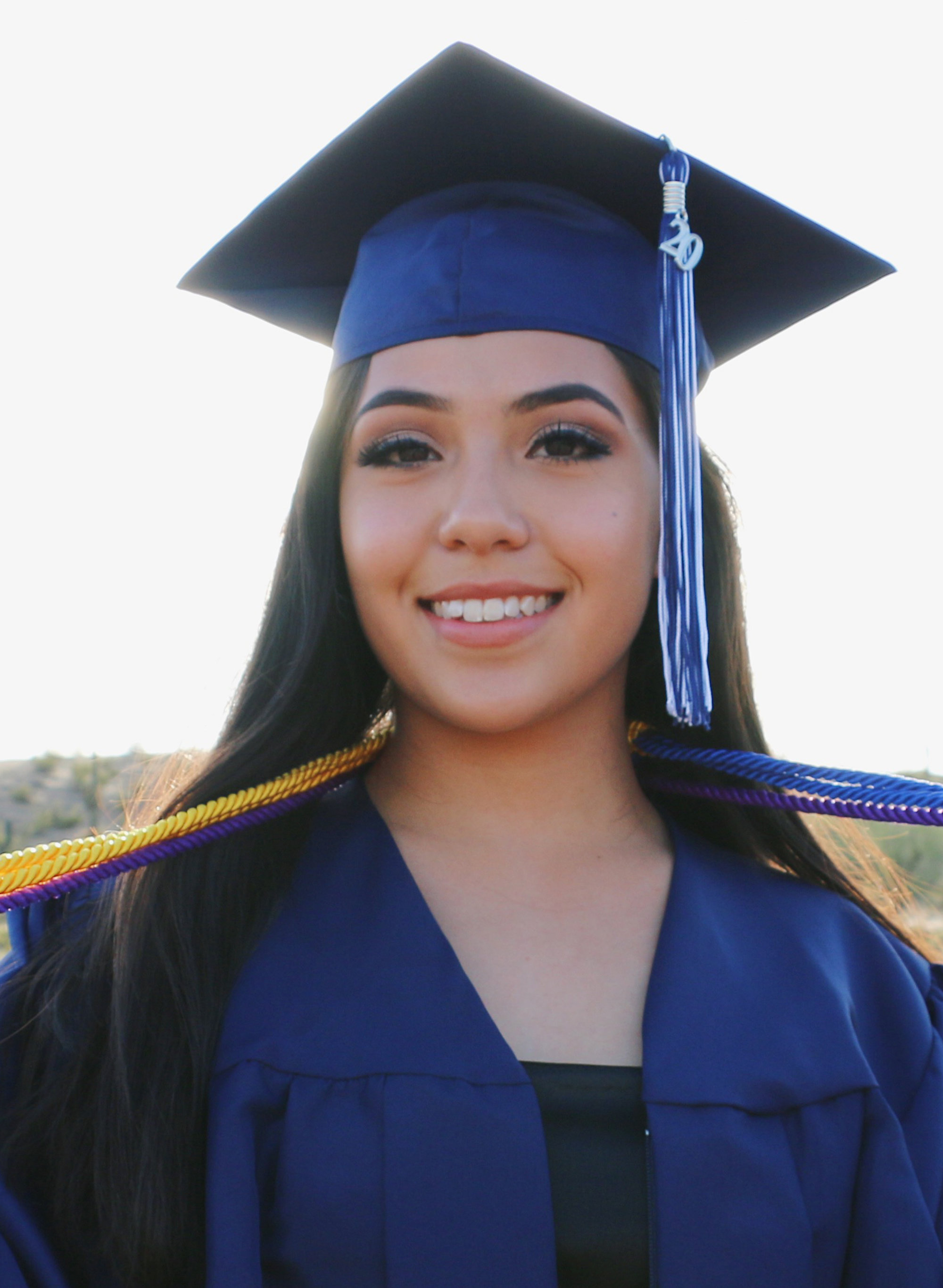 Maria García finished high school in Tempe, Arizona, this May.