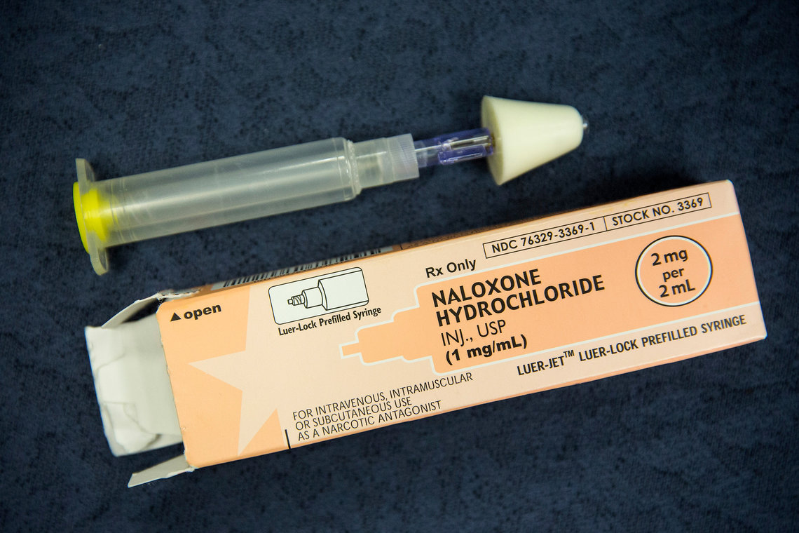 The New York Police Department announced in 2014 it would provide officers with overdose prevention kits that include Naloxone, a heroin antidote administered through the nose.