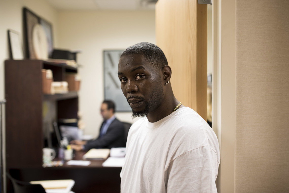 Early access to discovery materials sparked frank conversations between Winston Jones and his attorney about his addiction problems. As a result, they were able to negotiate drug and alcohol treatment in lieu of prison for burglary.
