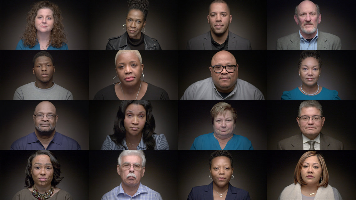 """The Marshall Project's nominations for the 2020 Online Journalism Awards include """"Digital Video Storytelling"""" for """"We Are Witnesses: Chicago,"""" produced in partnership with Kartemquin Films and Illinois Humanities."""