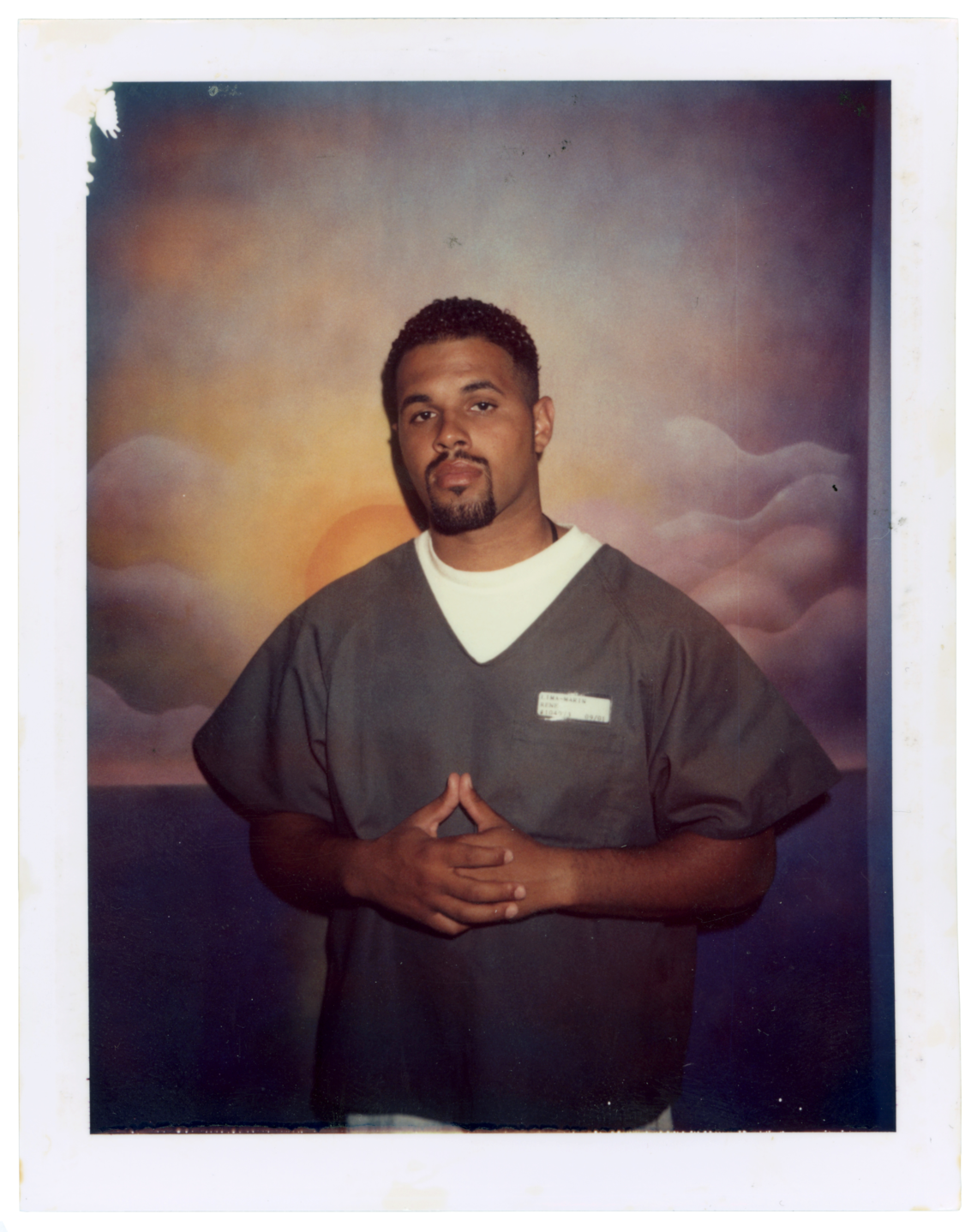 A polaroid of Rene Lima-Marin from his first term in state prison.