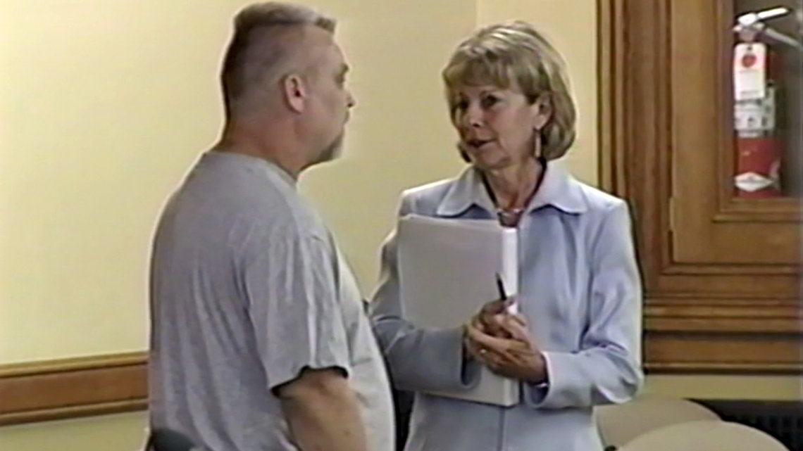 """Steven Avery and Penny Beerntsen in the second episode of """"Making a Murderer."""""""
