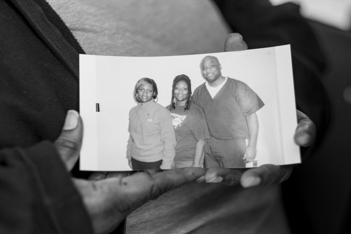 Inmates get a free picture ticket as reward for good behavior.