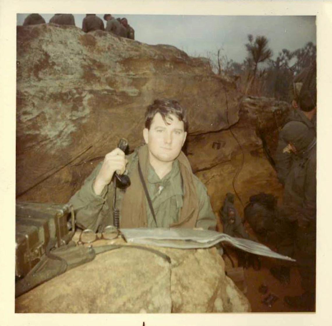 Andrew Brannan in Vietnam circa 1969.