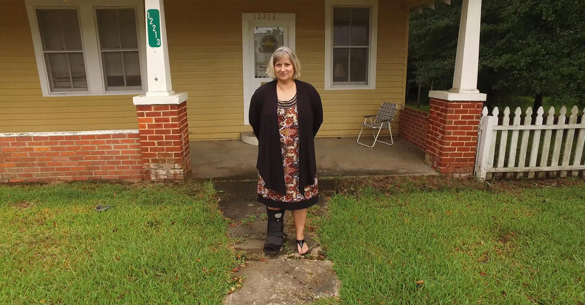 Rhonda Covington, the lone, full-time public defender in the 20th Judicial District of Louisiana.