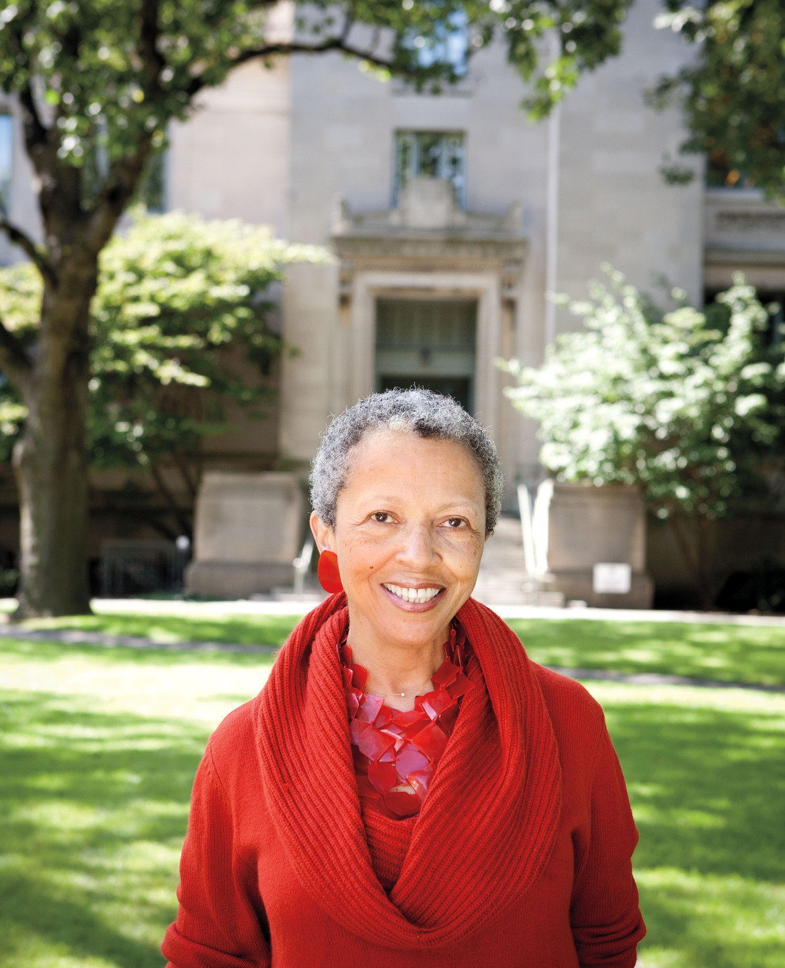 Peggy Davis was in charge of researching Texas law in the Legal Defense Fund's efforts against the death penalty in the Supreme Court in 1976.