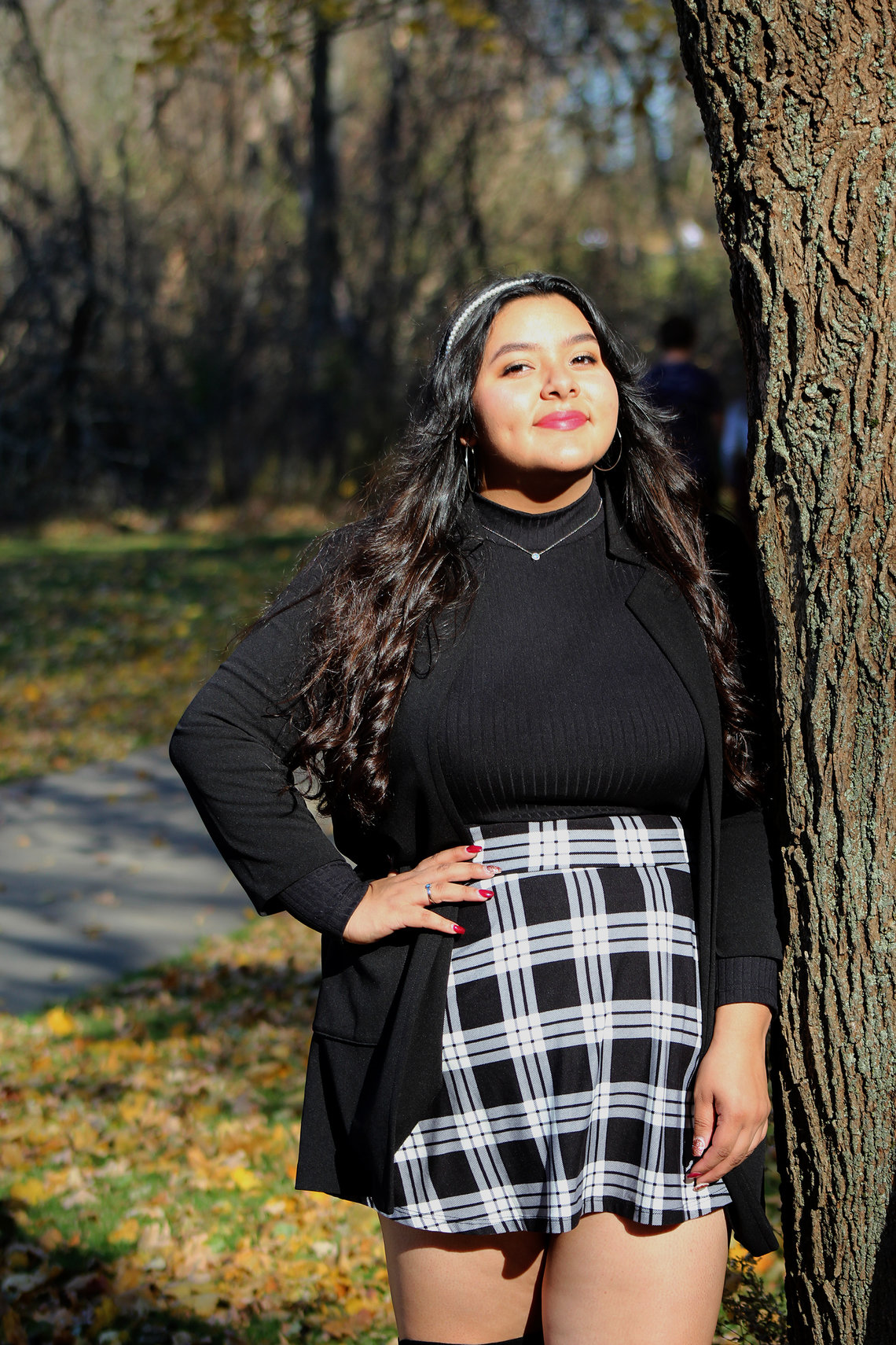 Cassandra Casas, a U.S. citizen, is a high school senior in Wisconsin. Her family was excluded from COVID-19 relief payments because her father, an undocumented immigrant, paid his taxes using a taxpayer identification number.