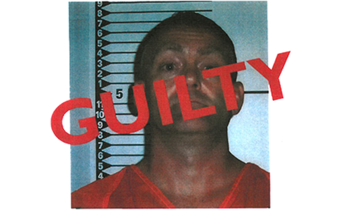 A slide used during closing arguments in the trial of Chadwick Leland Walter.