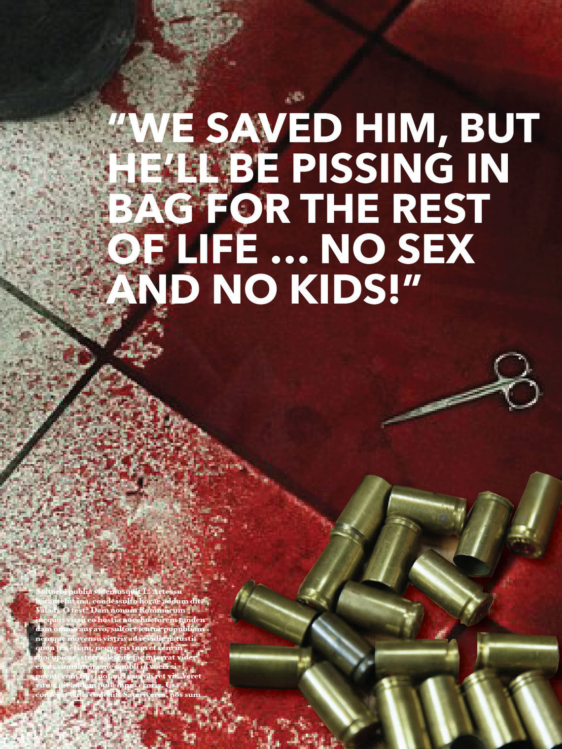James Evans, an advertising executive, created ad concepts for research purposes that use sex as an incentive to deter gun violence.