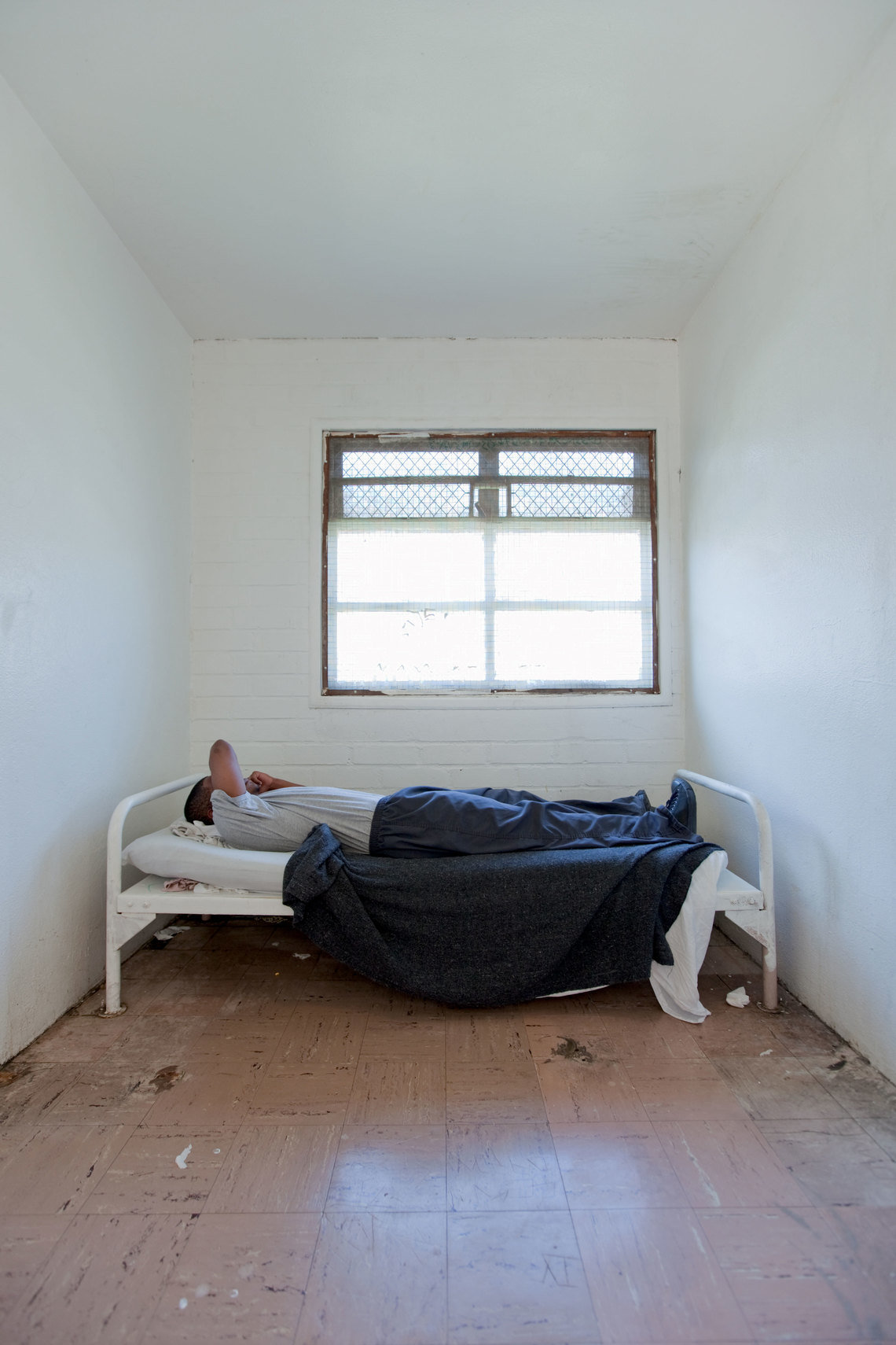 A 17-year-old at Central Juvenile Hall in Los Angeles.