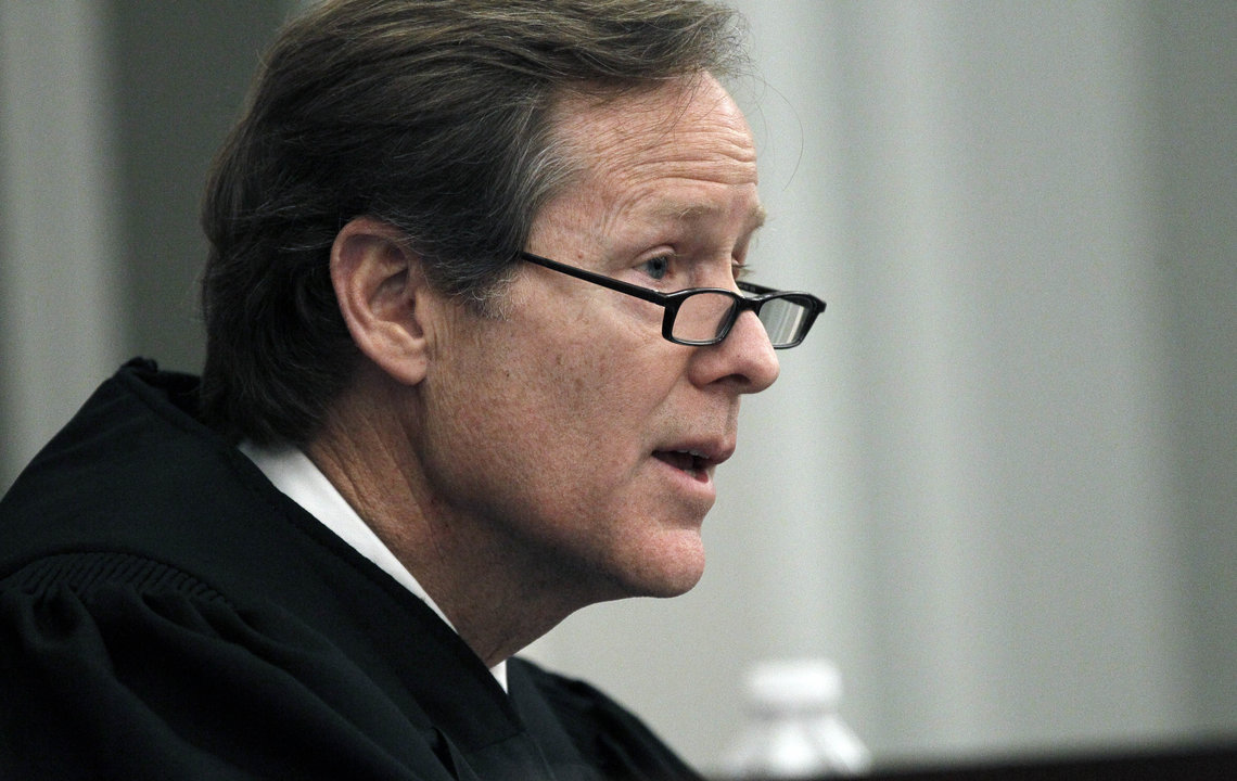 Hinds County Circuit Judge Jeff Weill in 2012.
