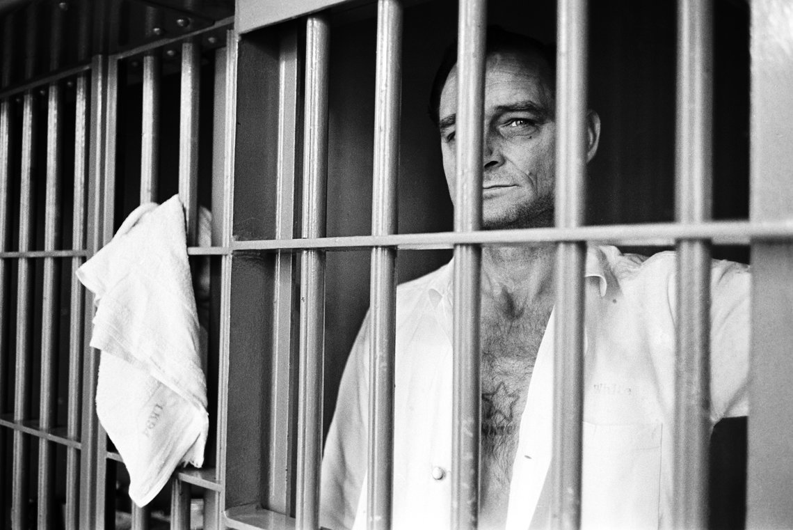 Excell White, a death row inmate at the Ellis Unit in 1979. He was executed on March 30, 1999.