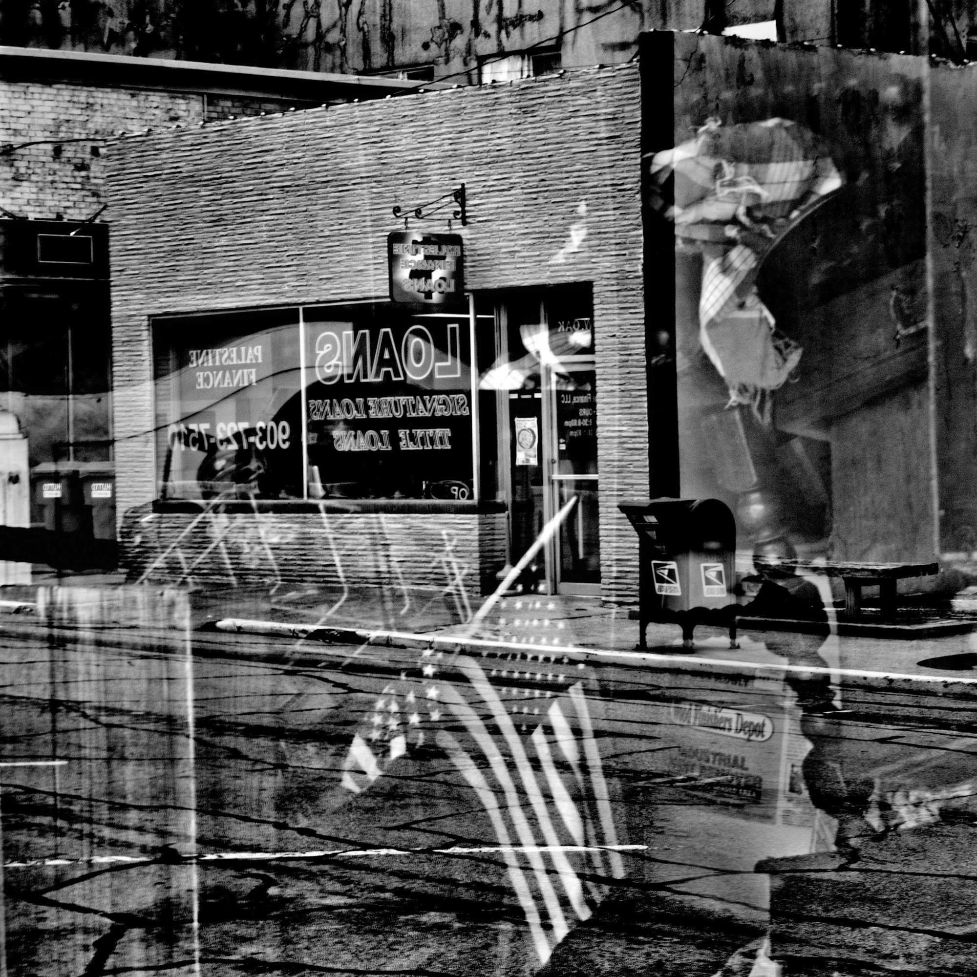 Downtown Palestine, Texas, in 2017.