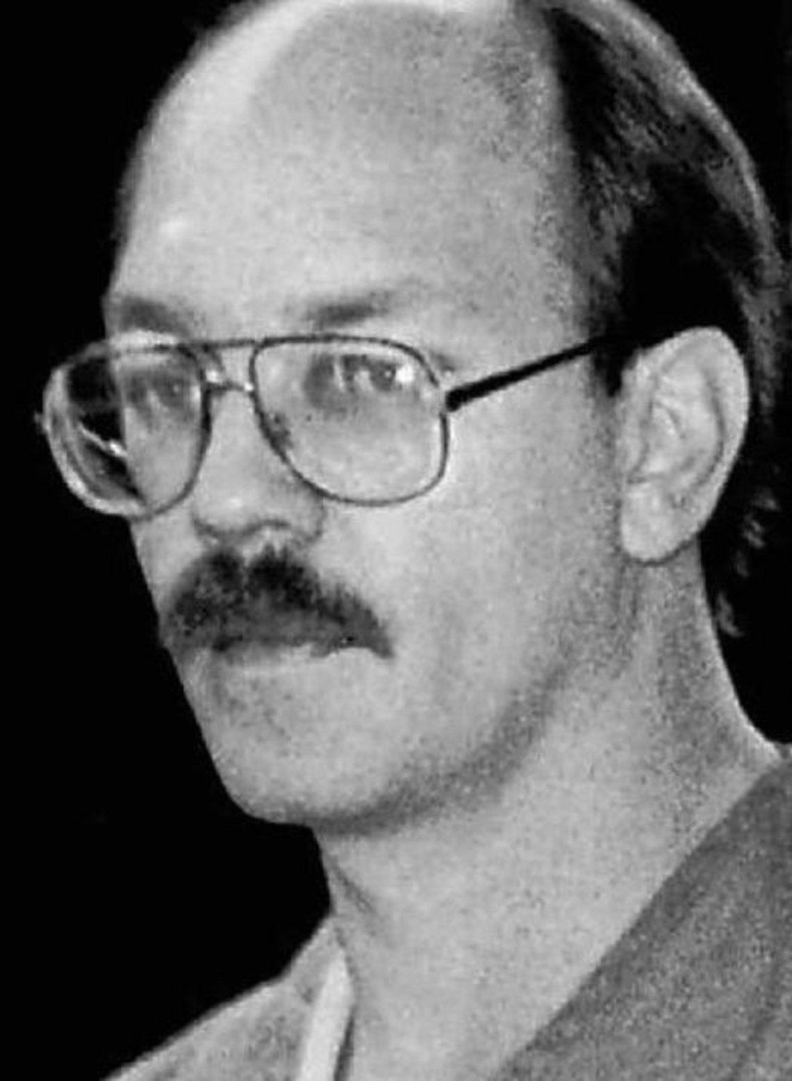 South Dakota jurors sent Charles Rhines, pictured, to death row for fatally stabbing Donnivan Schaeffer.
