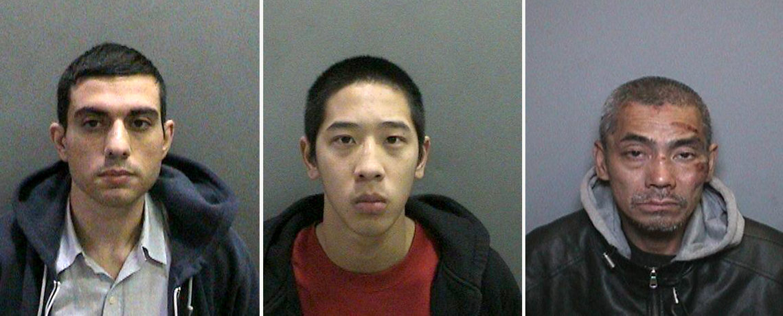 Hossein Nayeri, Jonathan Tieu and Bac Duong escaped from the Men's Central Jail in Santa Ana, Ca. on Jan. 22.