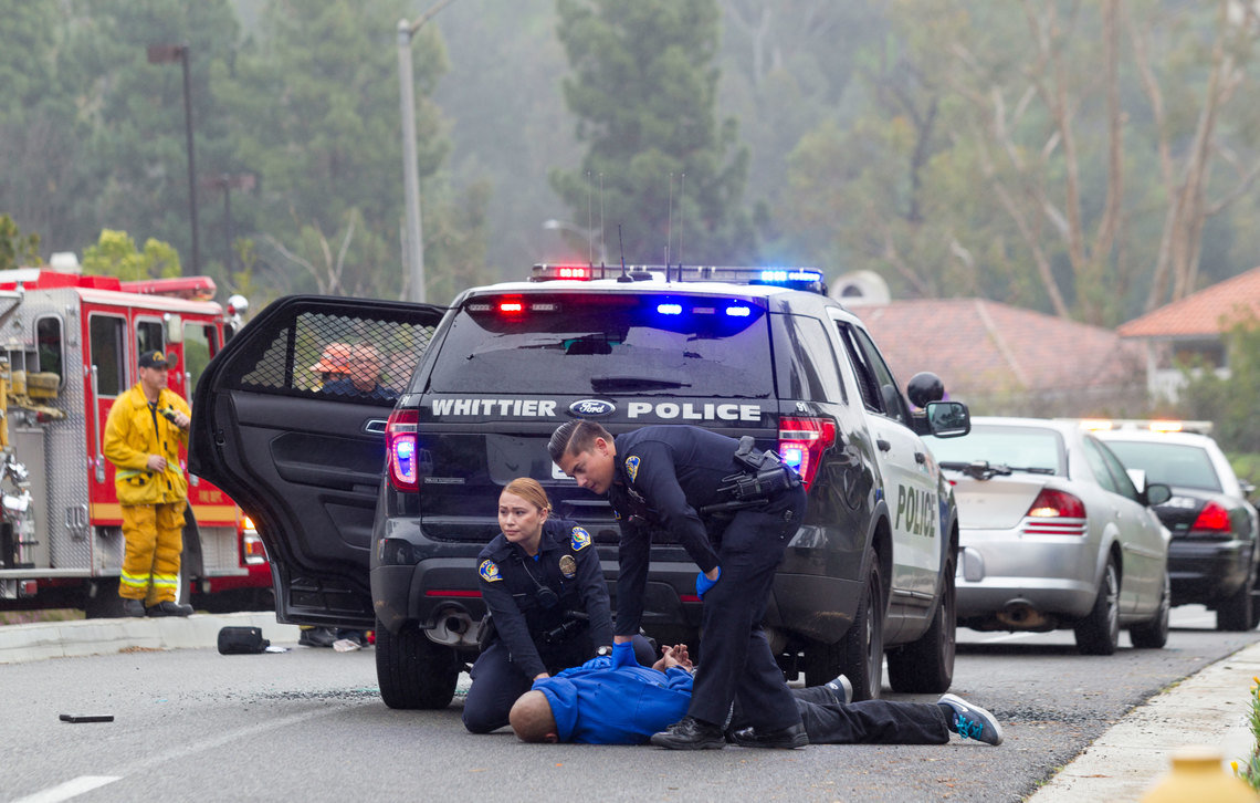 The fatal shooting of a Whittier police officer in February 2017 galvanized law enforcement groups to support a ballot measure to roll back some of the state's new laws aimed at prison-downsizing. The suspect in the shooting, Michael Christopher Mejia, had served time in state prison but had not been released early because of the new laws.