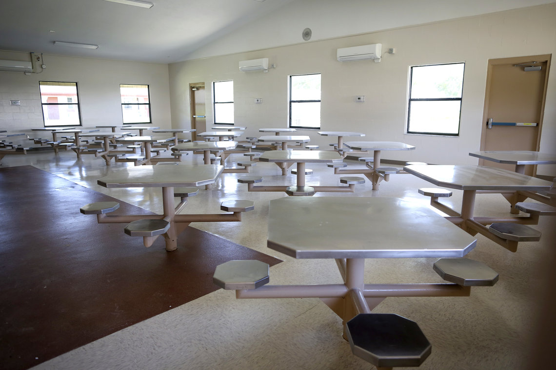 The Gainesville Correctional Institution in Florida was transformed into a homeless shelter in 2014.
