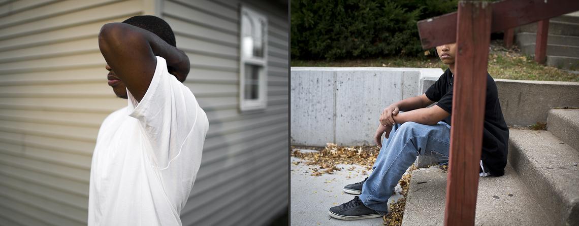 Kenny at 19.; Nick at 15.