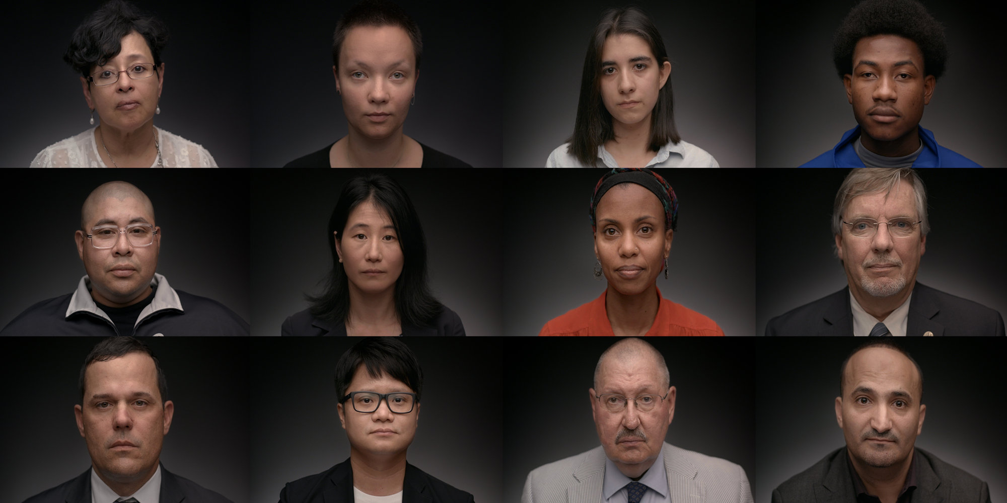 """A still from The Marshall Project's """"We Are Witnesses: Becoming an American""""."""
