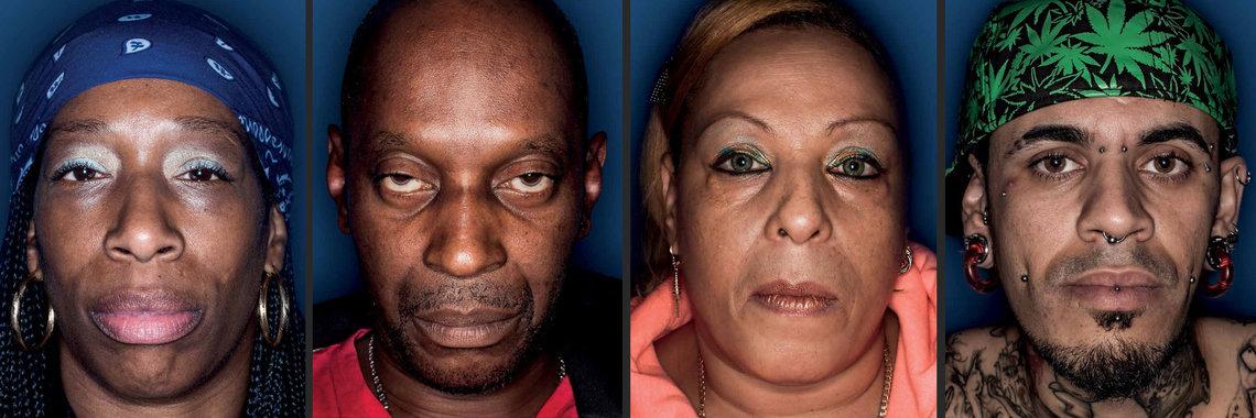 Defendants out on bail. From left, $10,0000 for drug possession; $25,000 for drug possession; $15,000 for drug possession; $1,500 for harassment.