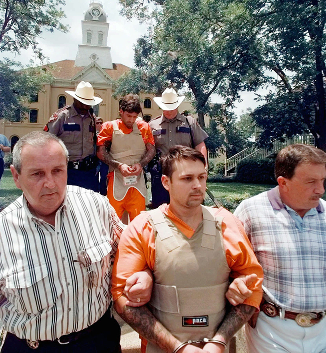 John William King and Lawrence Russell Brewer were sentenced to death for the murder of James Byrd Jr. in Jasper County in Texas in 1998.