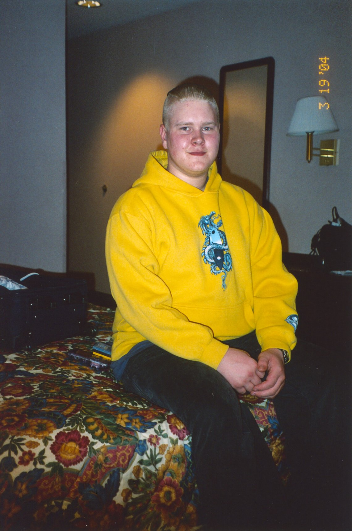 Craig Bolte in 2004.