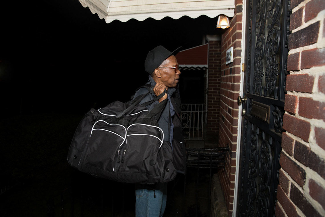 He continued on to Philadelphia to reunite with his mother, Willie Mae Dickerson, for the first time in over a decade.