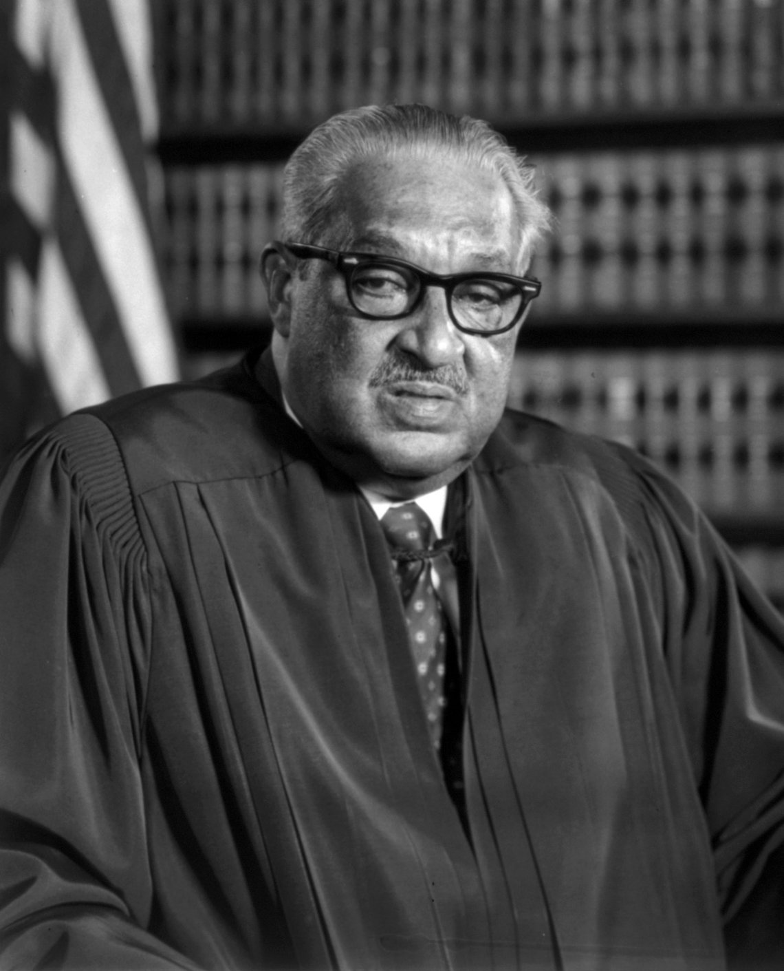 Supreme Court Justice Thurgood Marshall in 1976.