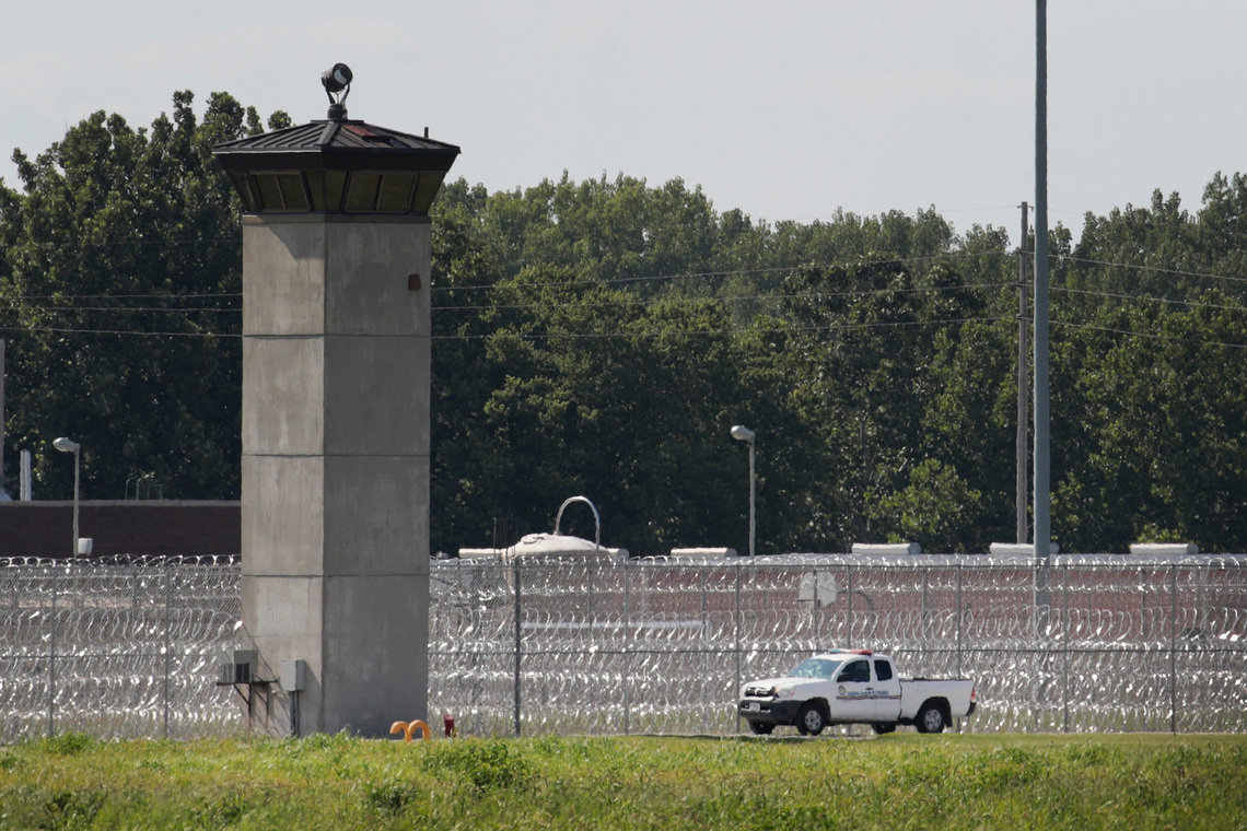 The federal execution chamber is located at Terre Haute Federal Correctional Complex in Indiana.