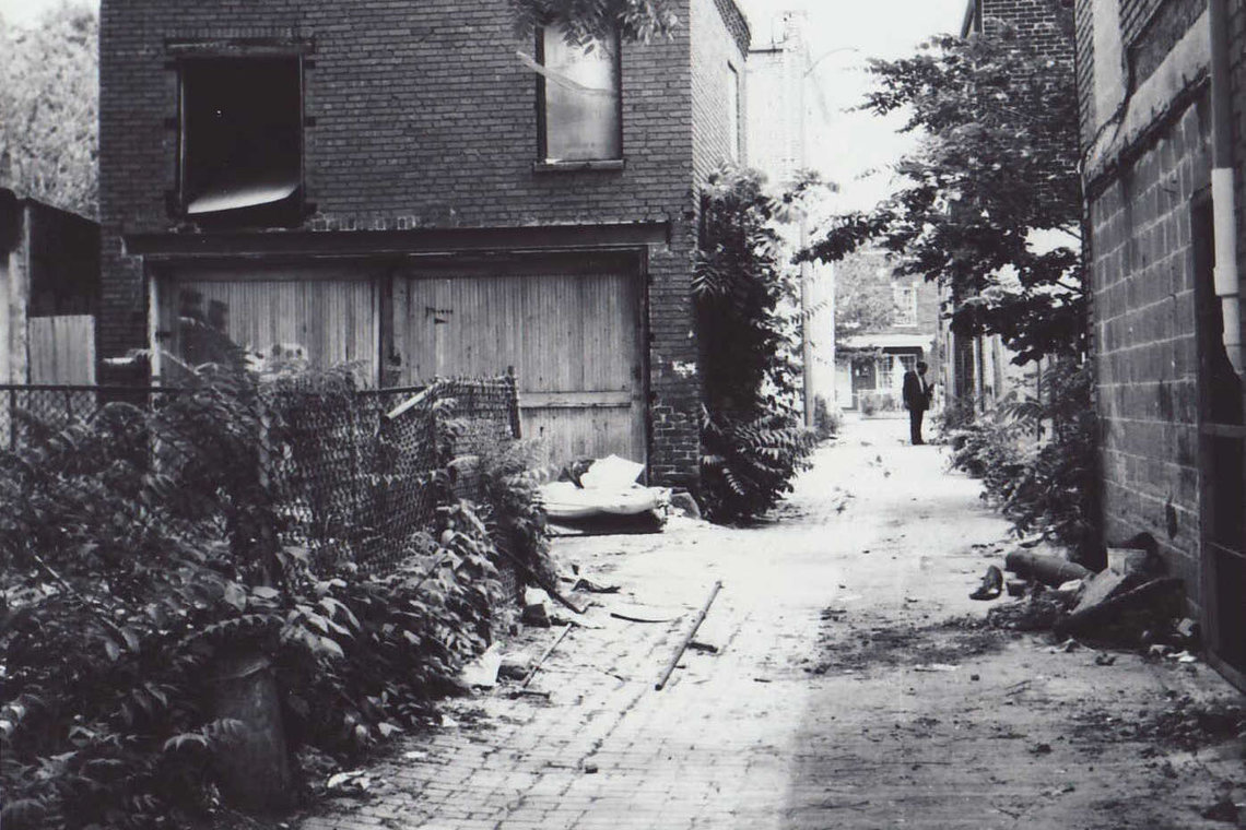 Catherine Fuller's 99-pound body was found on the cement floor of an empty garage, off a narrow, trash-strewn alley behind the 800 block of H Street NE in Washington in 1984.