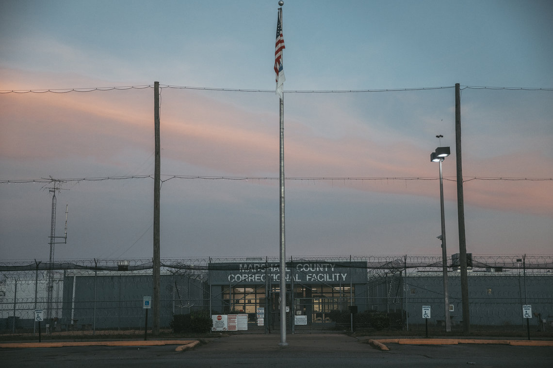 The Marshall County Correctional Facility in Mississippi is run by Management & Training Corporation. The state's contract with MTC requires at least 19 officers per overnight shift, but former employees said some nights, there were only 6 guards.