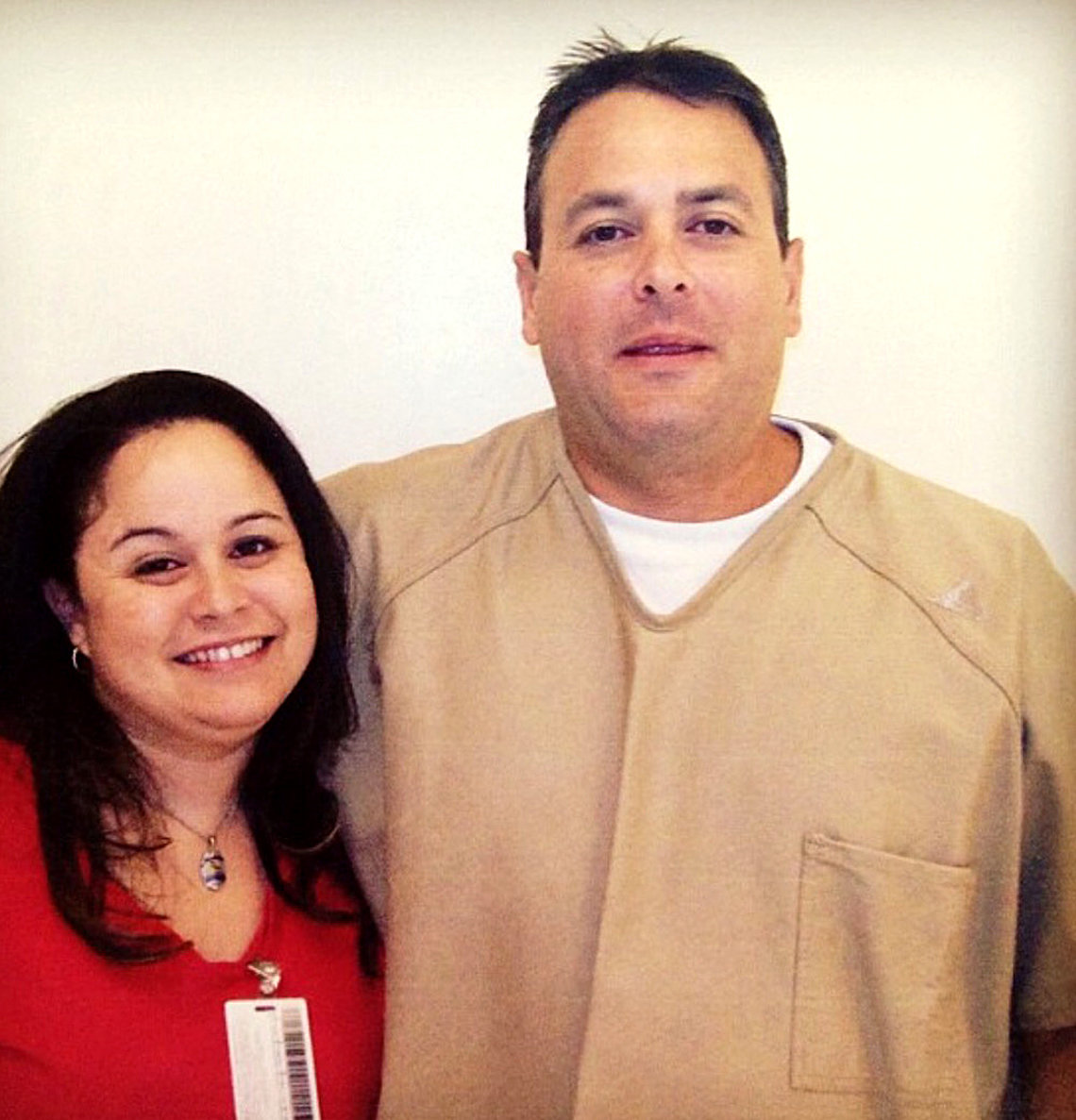 Kealiiokalani Meheula with his sister, Kainani, in October 2015. This was Kealiiokalani's first visit with his father and grandmother since he was sent to the mainland in 2006. He has been held at Saguaro Correctional Center since 2007.