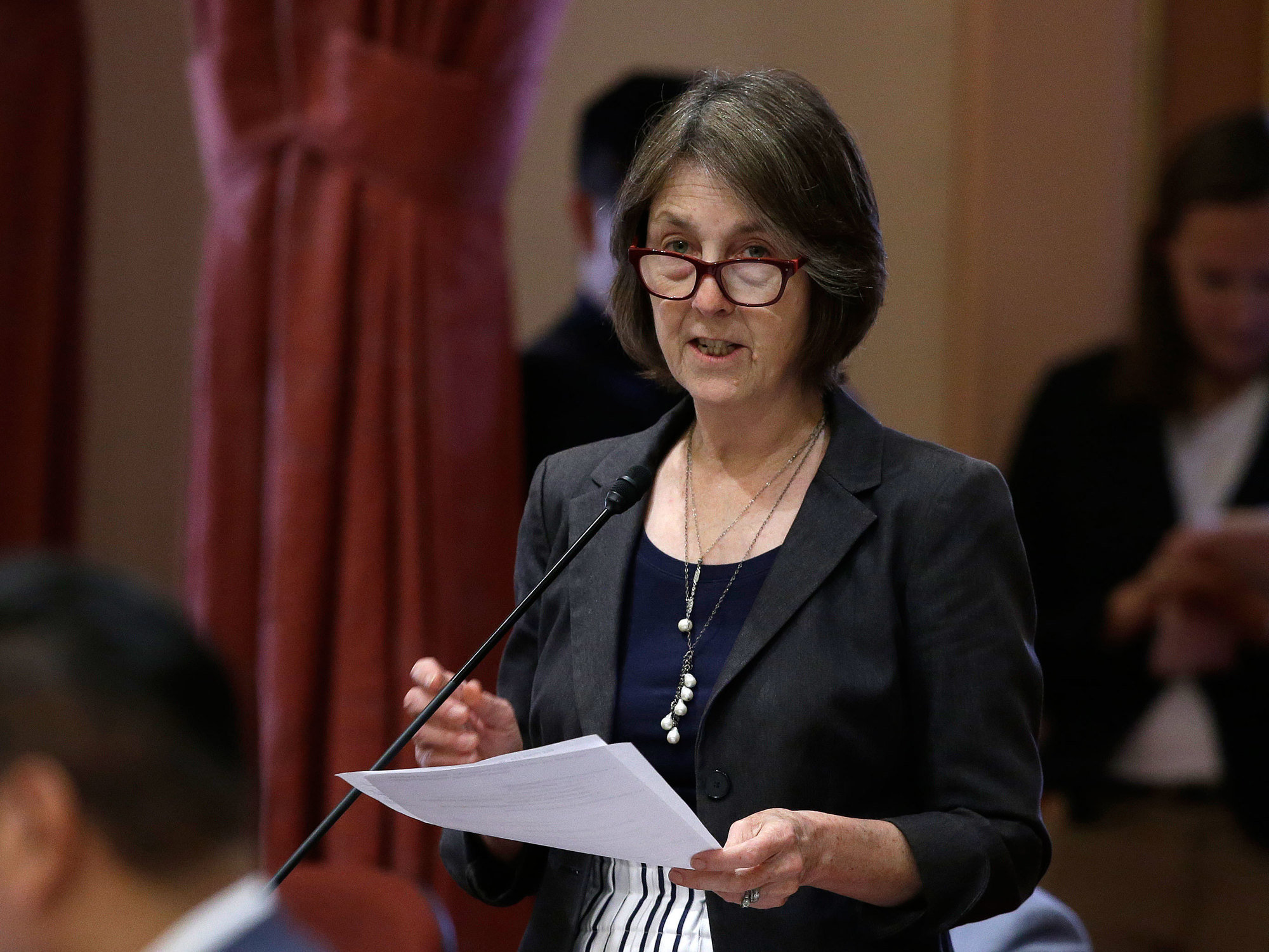 A measure sponsored by state Sen. Nancy Skinner, D-Berkeley, that would allow the public release of police reports dealing with possible officer misconduct was approved by the Senate in 2018.