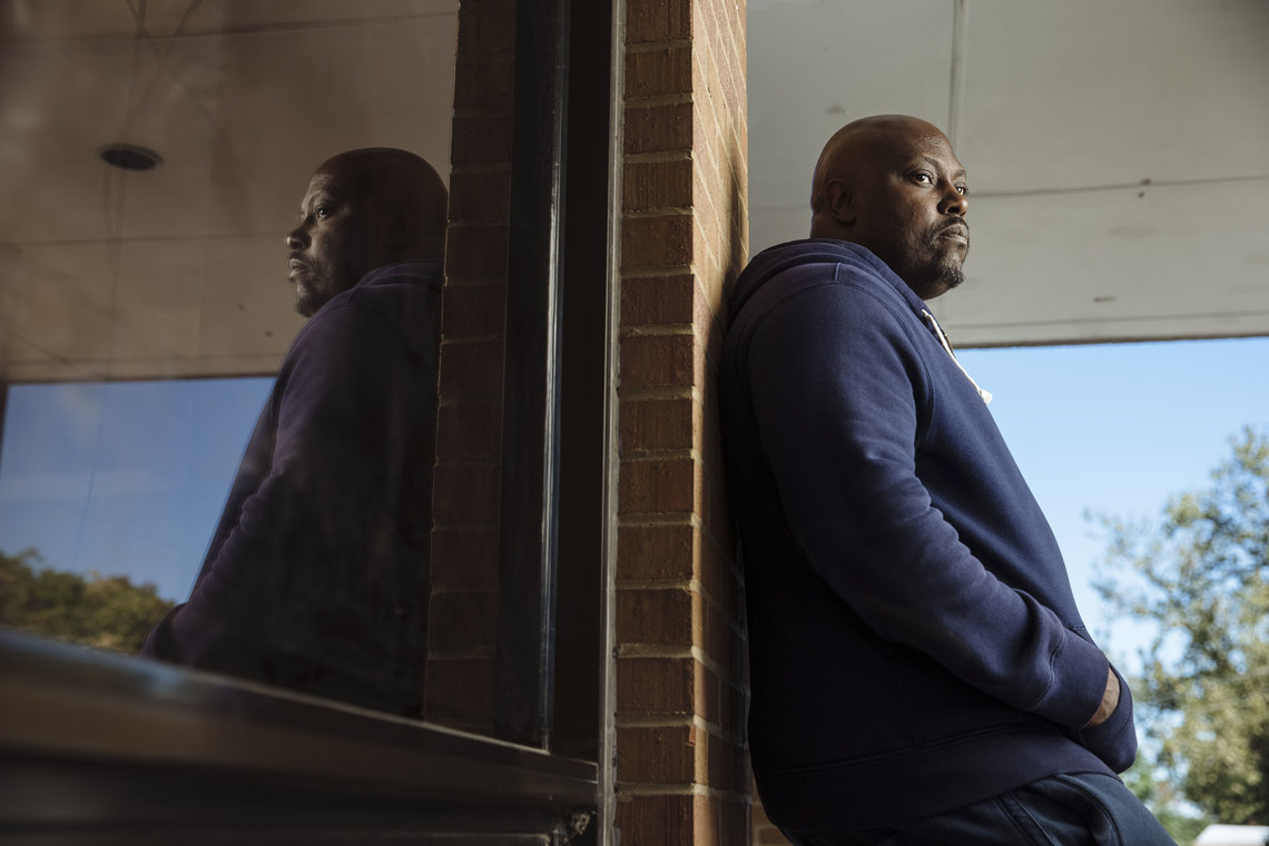 Corey Mason said he accrued child support debt while he was in prison and is struggling to pay off the debt while working at a hotel in downtown St. Louis.