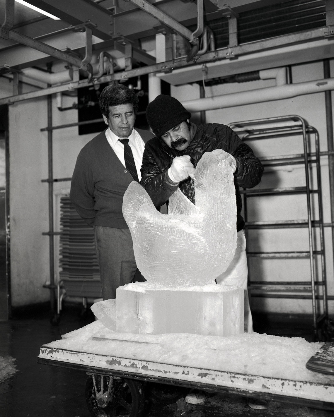 Ice Sculpture, date unknown