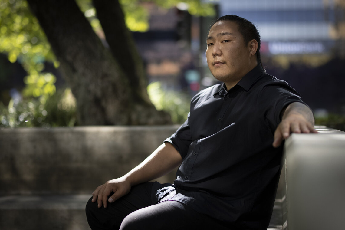 Anthony Cho has notified the city that he plans to sue after he was beaten by police officers in July 2020.