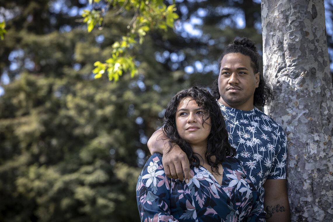 Marissa Santa Cruz and Paea Tukuafu are suing the San Jose Police department after they were beaten and shot with stun guns by police officers responding to a noise complaint